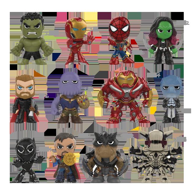 Mystery Minis Vinylov 233 Figurky Avengers Infinity War