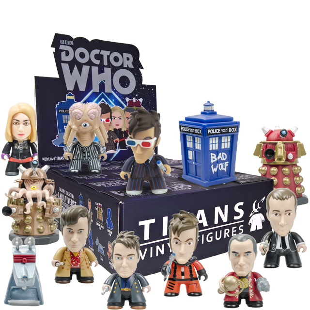 Figurky Titans 10th Doctor Who - Blindbox