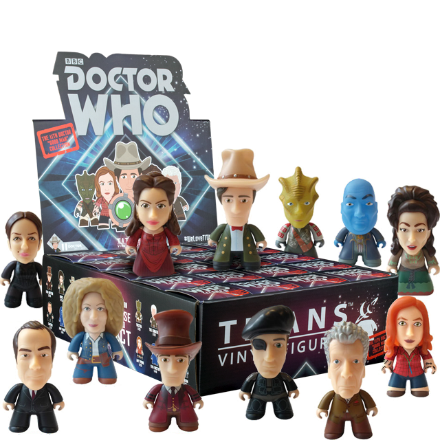Figurky Titans 11th Doctor Who - Blindbox