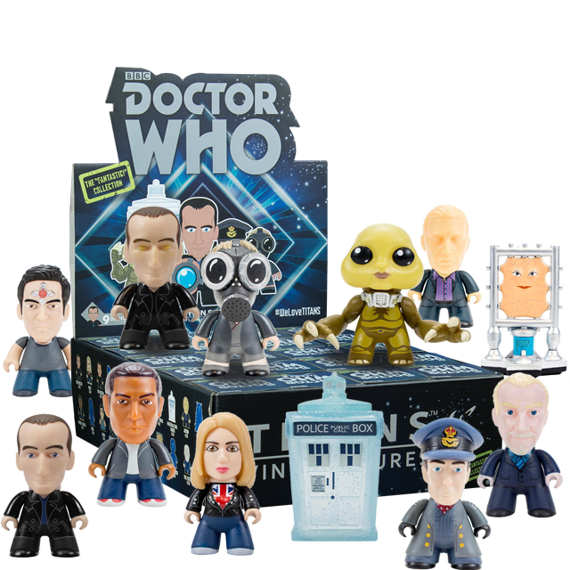 Figurky Titans 9th Doctor Who - Blindbox