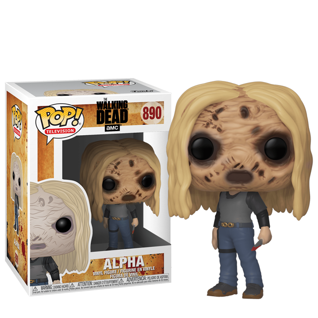 Figurka Funko POP Alpha s maskou - Walking Dead