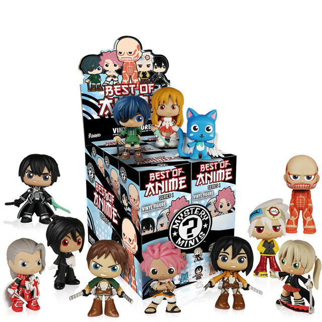 Figurky Mystery Minis Anime - Blindbox