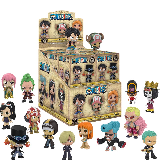 Figurky Mystery Minis Anime One Piece - Blindbox