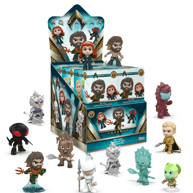 Figures Mystery Minis Aquaman - Blindbox