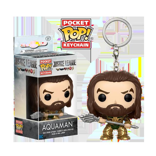 Pocket POP! Aquaman - přívěsek na klíče