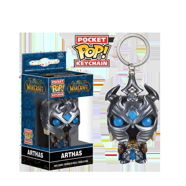 Pocket POP! Arthas - přívěsek na klíče