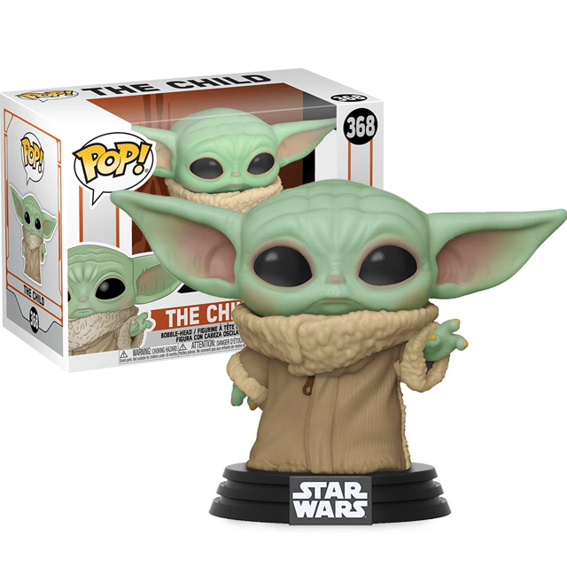 Figurka Funko POP Baby Yoda - Mandalorian