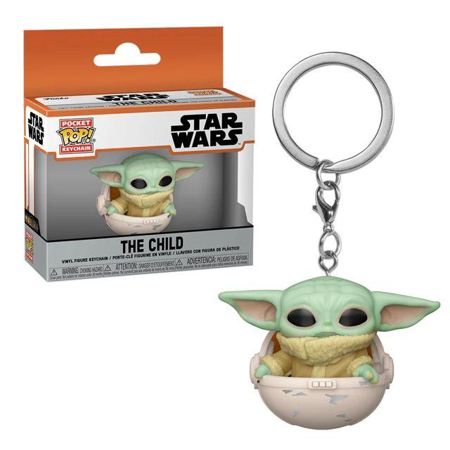 Baby Yoda - přívěsek na klíče