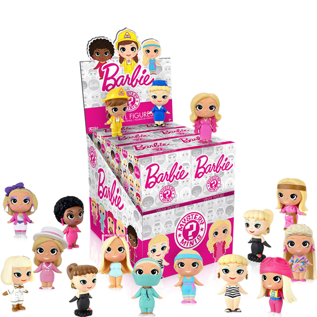 Figurky Mystery Minis Barbie - Blindbox