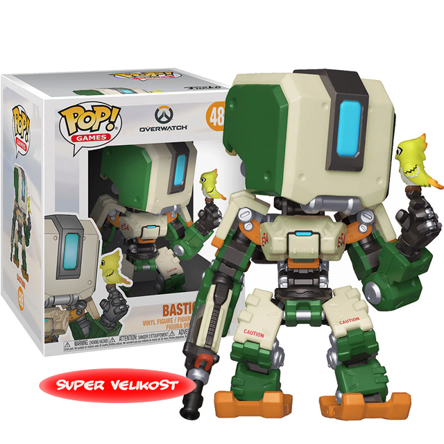 Figurka Funko POP Bastion - Overwatch
