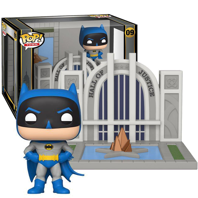 Funko POP Batman 80th - Hall of Justice