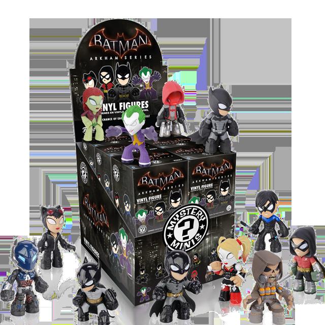 Figurky Mystery Minis Batman Arkham - Blindbox