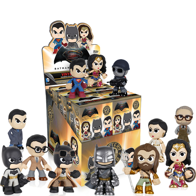 Figurky Mystery Minis Batman vs Superman - Blindbox