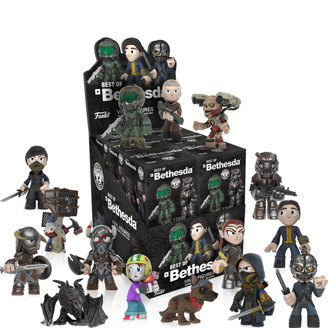 Figurky Mystery Minis Bethesda - Blindbox