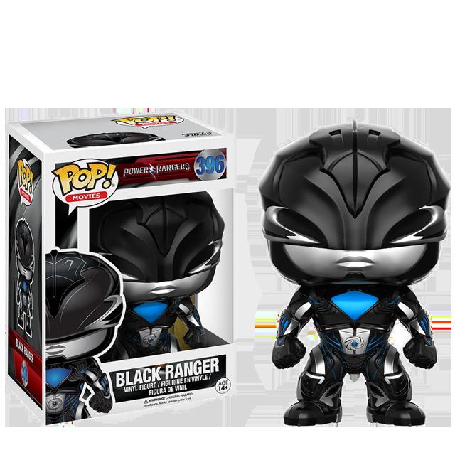 Figurka Funko POP! Black Ranger - Power Rangers