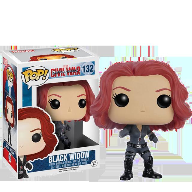 Figurka Funko POP! Black Widow - Civil War