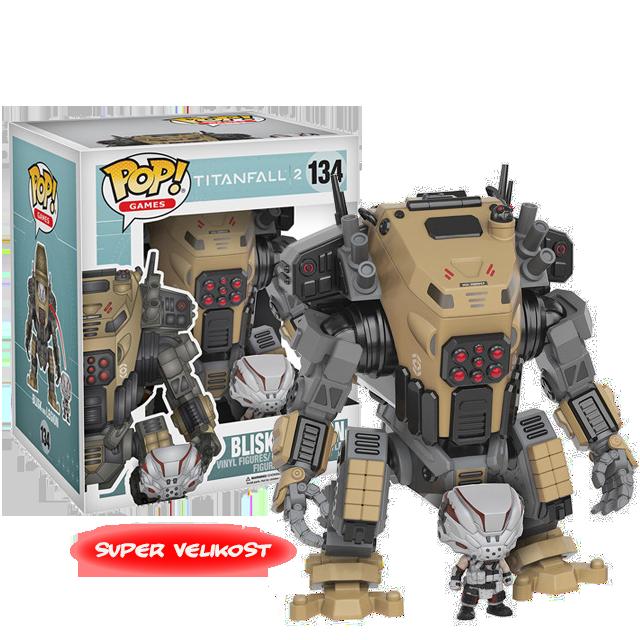 Figurka Funko POP! Blisk & Legion - Titanfall 2