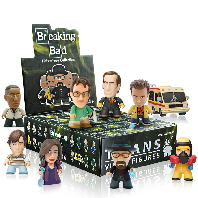 Figurky Titans Breaking Bad - Blindbox