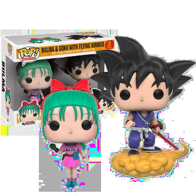 Figurka Funko POP! Bulma & Goku - Dragonball Z
