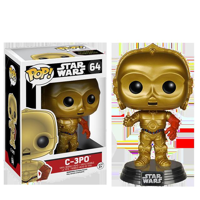 Figurka Funko POP! C-3PO