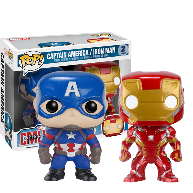 Figurka Funko POP! Captain America a Iron Man
