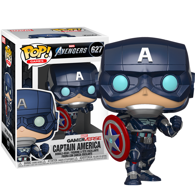 Funko POP Captain America - Avengers Game