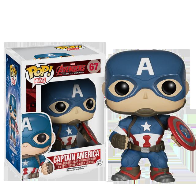 Figurka Funko POP! Captain America - Avengers