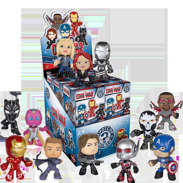Figurky Mystery Minis Captain America Civil War - Blindbox