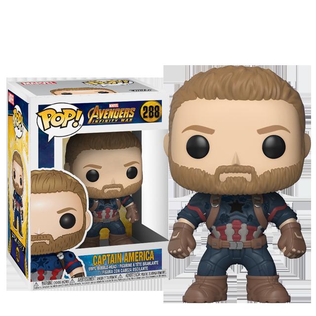 Figurka Funko POP! Captain America - Infinity War