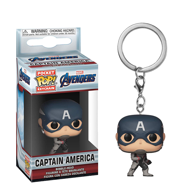 Pocket POP! Captain America - keychain