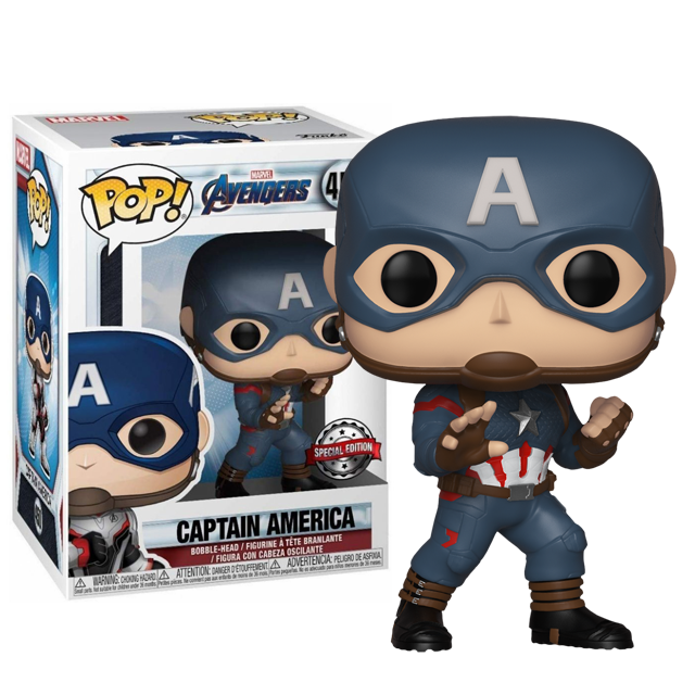 Funko POP Captain America SE - Endgame