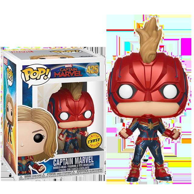 Figurka Funko POP Captain Marvel CHASE