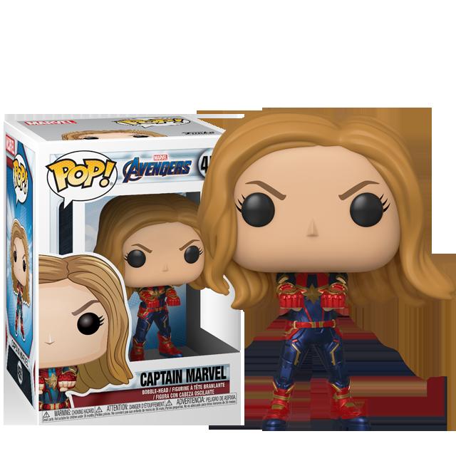 Figurka Funko POP! Captain Marvel - Endgame