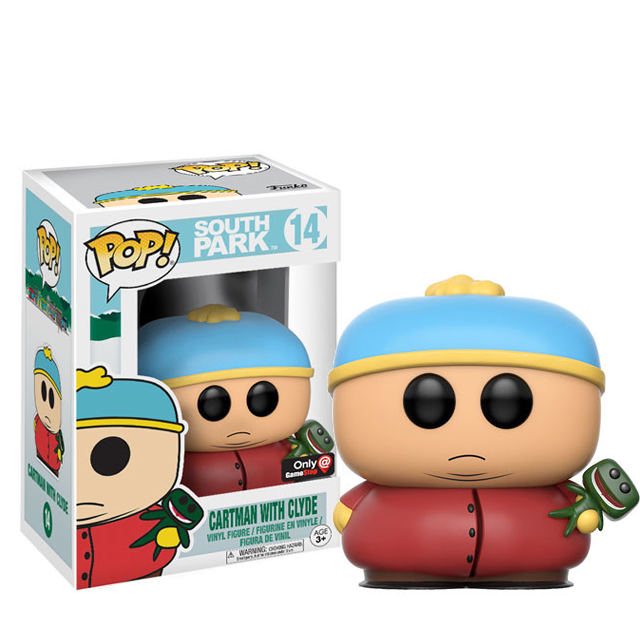 Figurka Funko POP! Cartman s Clydem - South Park