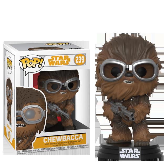 Figurka Funko POP! Chewbacca s brýlemi