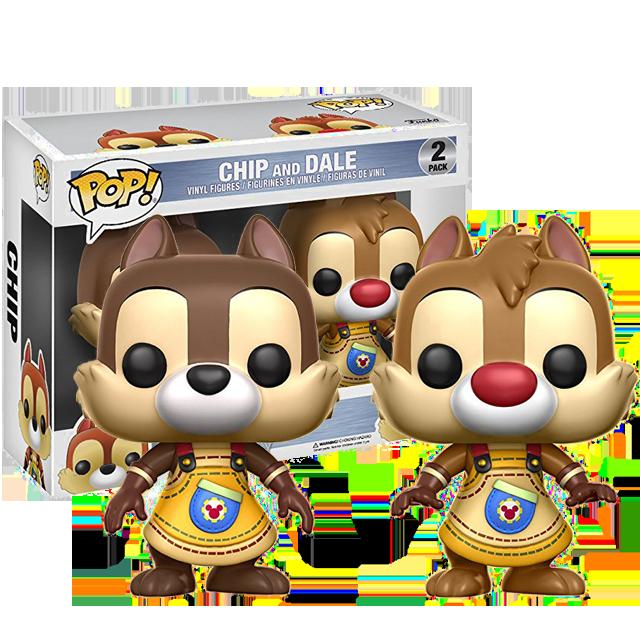 Figurka Funko POP! Chip a Dale 2-pack