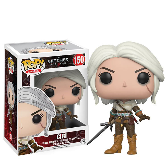 Figurka Funko POP! Ciri - Witcher 3