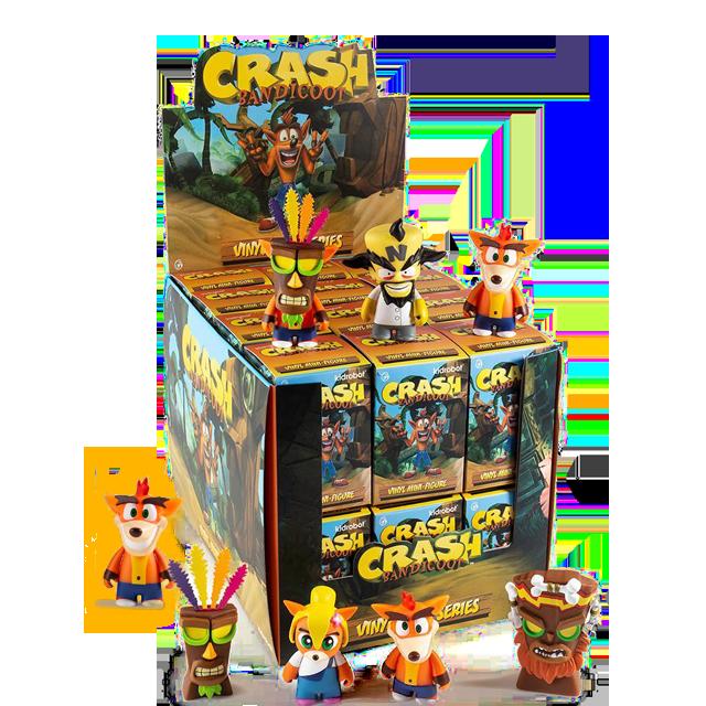 Kidrobot Crash Bandicoot - Blindbox