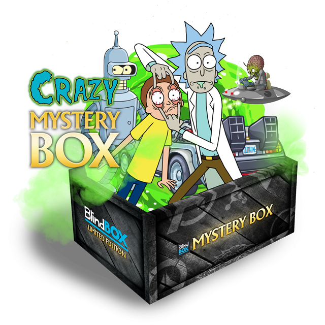 Blindbox Crazy #1 Mystery Box