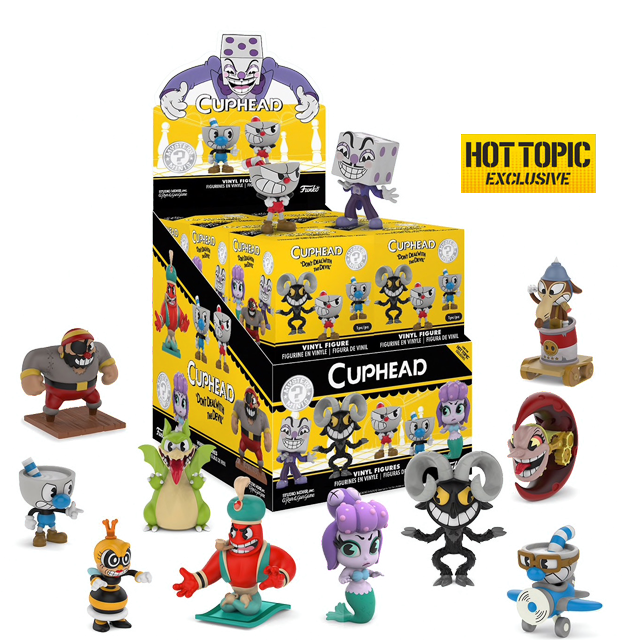 Figurky Mystery Minis Cuphead - Blindbox HOTTOPIC