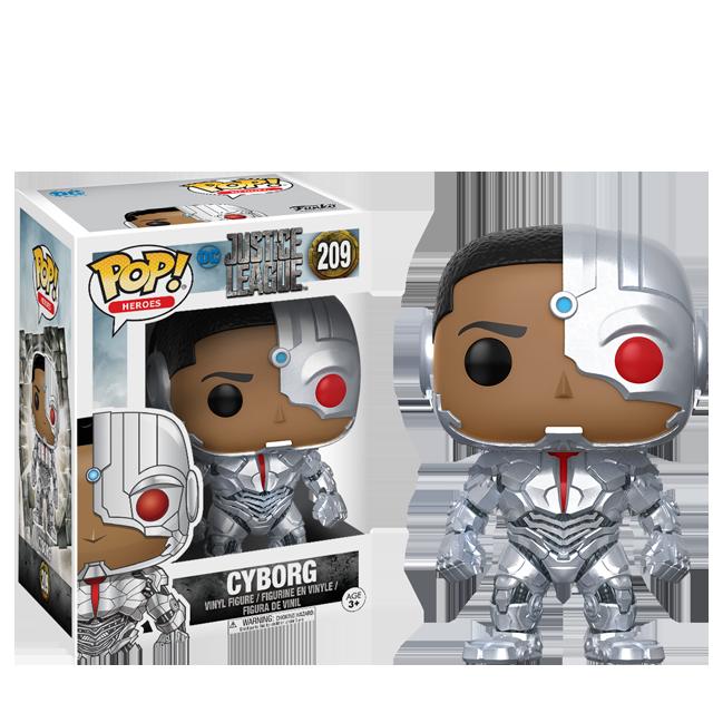 Figurka Funko POP! Cyborg - Justice League