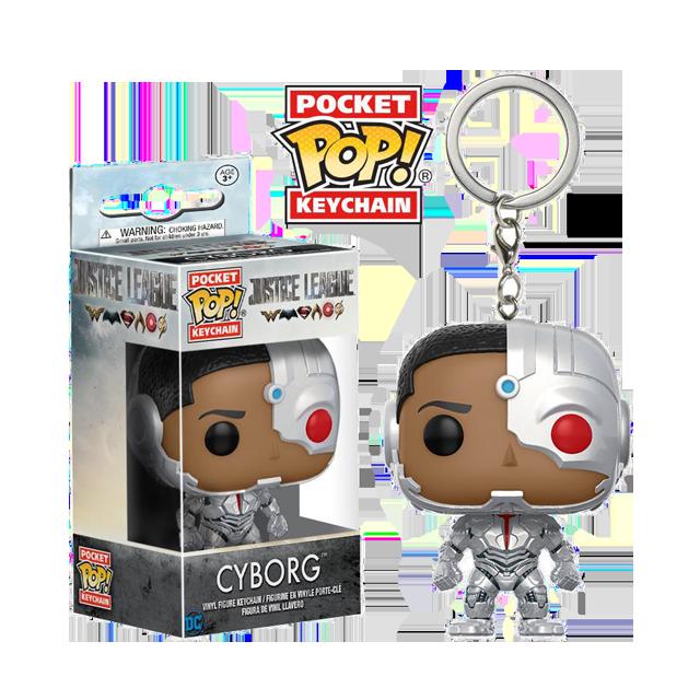 Pocket POP! Cyborg - přívěsek na klíče