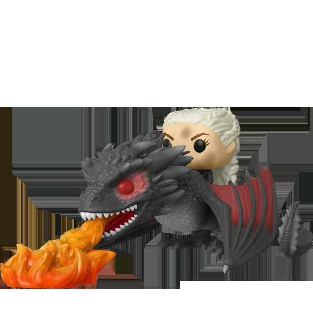 Figurka Funko POP Daenerys a ohnivý Drogon