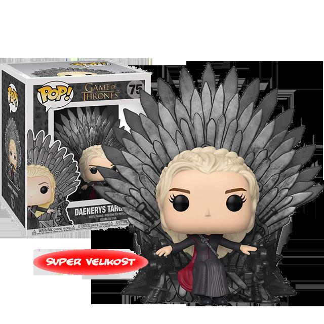 Figurka Funko POP Daenerys na trůnu