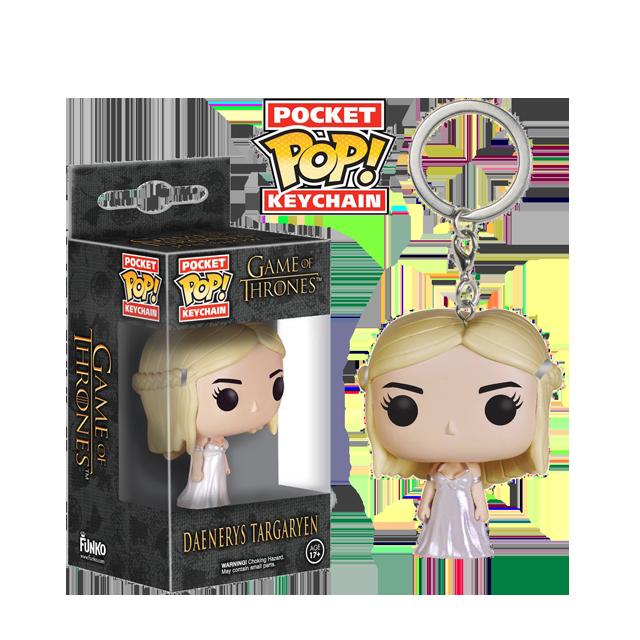 Pocket POP! Daenerys - přívěsek na klíče