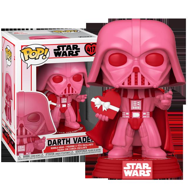 Funko POP Darth Vader Valentine