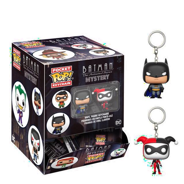 Pocket POP! DC Batman přívesky na klíče - Blindbox
