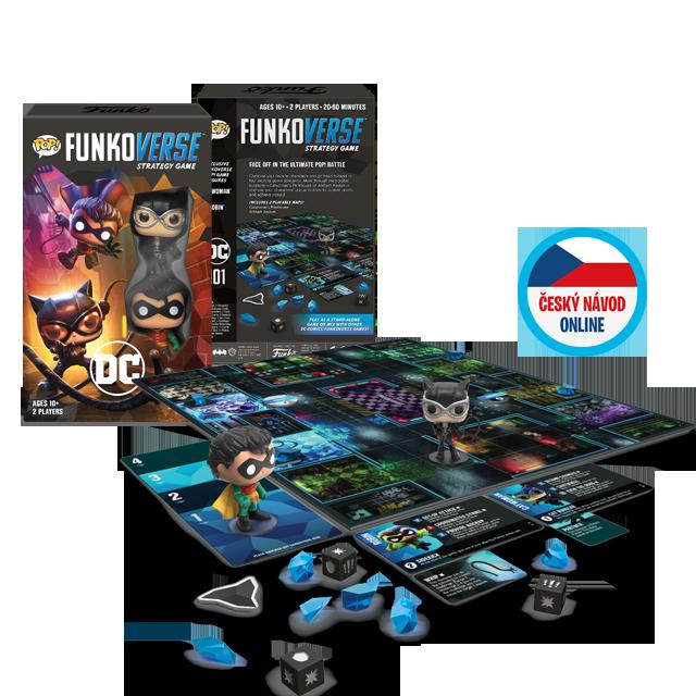 Funko DC Comics Funkoverse #2 - desková hra