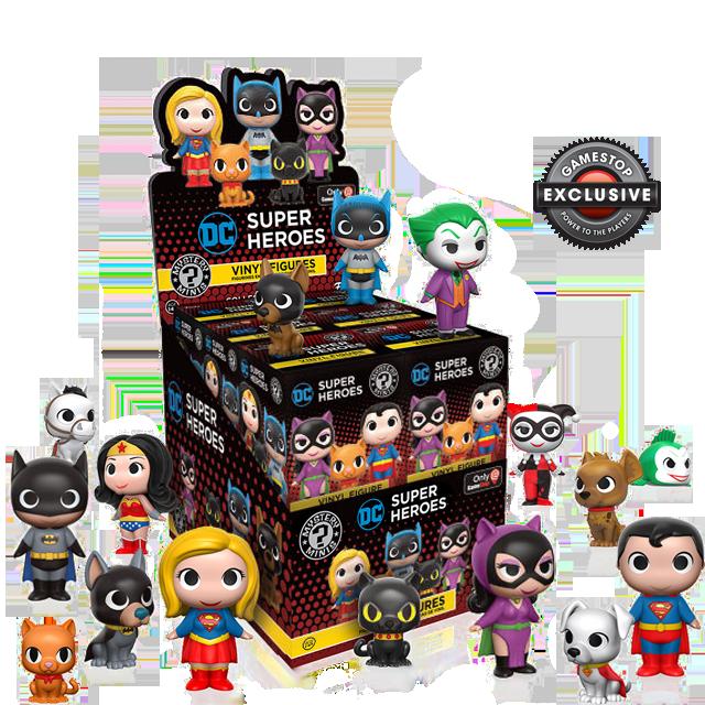 Figurky Mystery Minis DC Heroes a Mazlíčci - Blindbox GAMESTOP