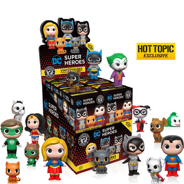 Figurky Mystery Minis DC Heroes a Mazlíčci - Blindbox HOTTOPIC